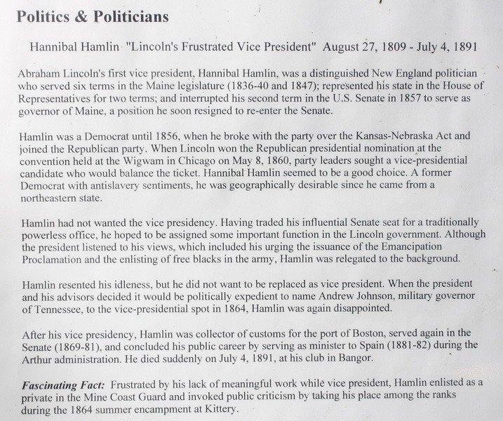3A: Vice President Hannibal Hamlin's Trunk with Provena - 3