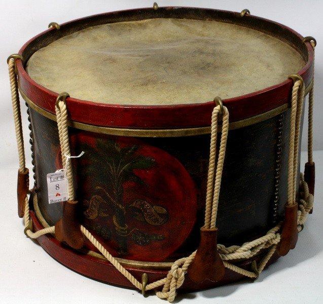 8A: South Carolina civil war drum