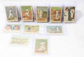 Lot Of 10 1959 Fleer Ted Williams Cards