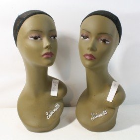 "Pair Of ""Silhouette"" Mannequins"
