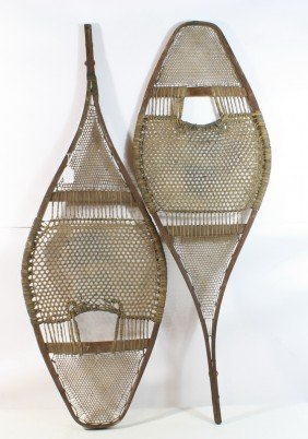 12: Set of snowshoes