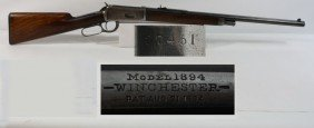 Winchester Model 1894 30 Caliber WCF Serial # 2745