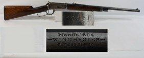 13A: Winchester Model 1894 30 Caliber WCF serial # 2745