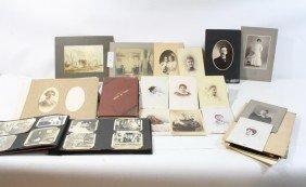 18A: Ephemera Lot with old photos