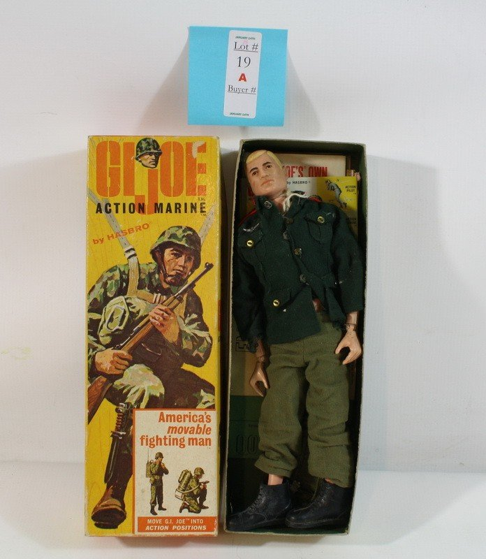 19A: 1964 GI Joe in the Original Box