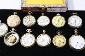 43: Lot of pocket watches