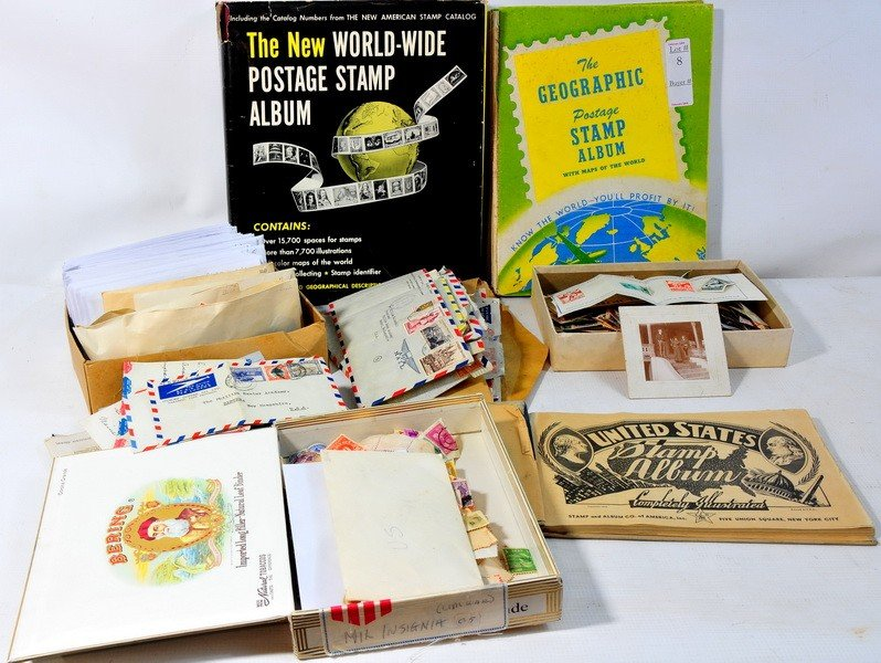 8: Misc Lot of Stamps