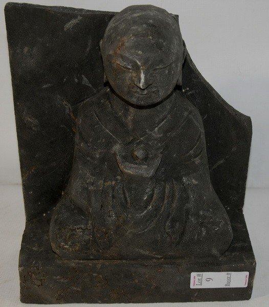 9: Carved Stone Buddha