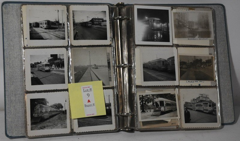 9A: Album full of old trolley photos