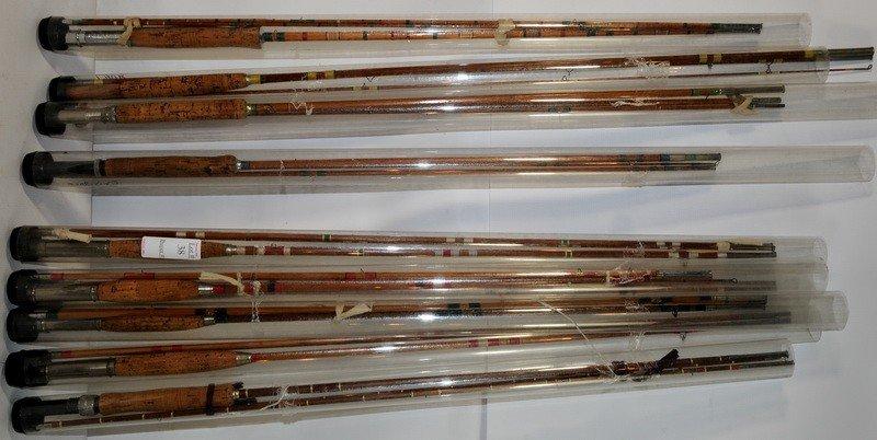 38: 10 Bamboo Fishing Rods