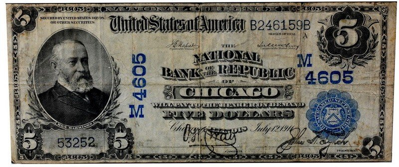 11: Series 1902 National Bank of the Republic of Chicag