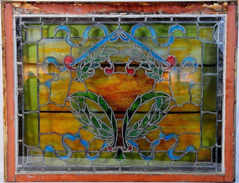 19: 36x27 Stained glass window