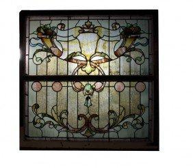 46x46 Stained Glass Window