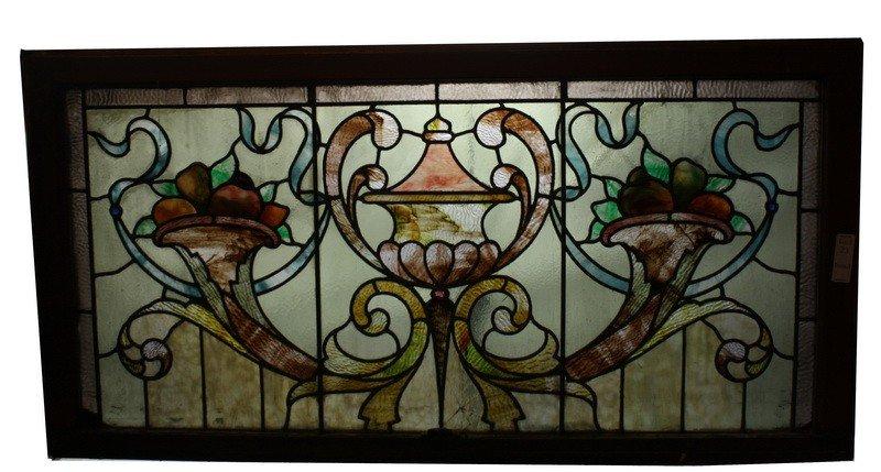 23: 46x23 Stained glass window