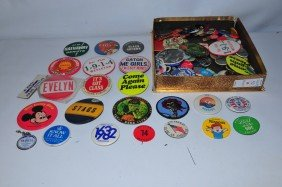 Assorted Lot Of Pins