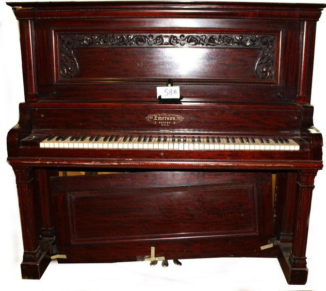 58A: Emerson Upright  Piano