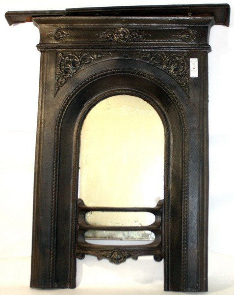 71A: Cast Iron fireplace insert