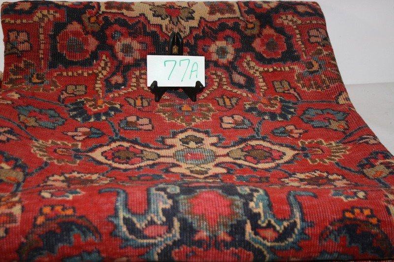 77A: 10x7 Oriental rug
