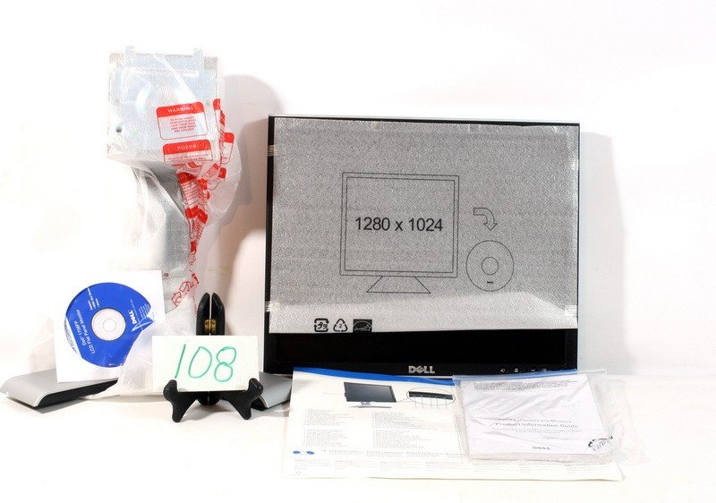 108: Dell Flat Screen Monitor Model 1708 FP New In box