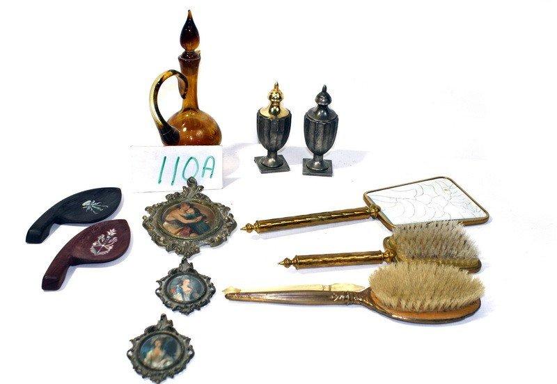 110A: Victorian dresser lot