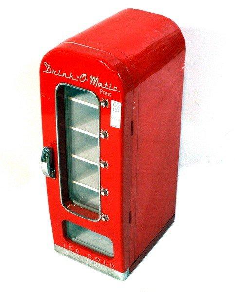 157: Drink O'Matic Soda Cooler Model DR-3 12VDC 50 Watt