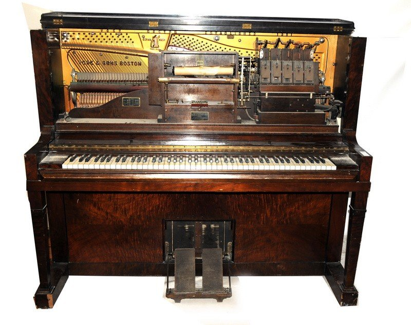 508: Vose and Sons Upright Player Piano