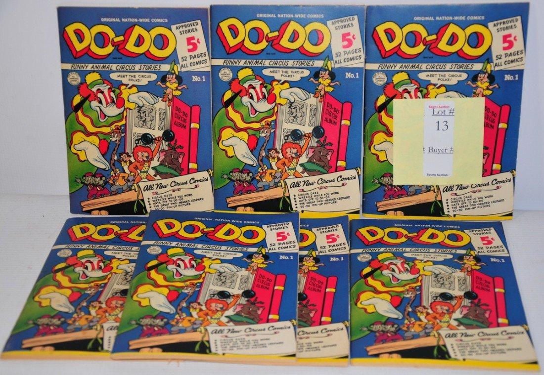 13: Seven 5cent Do-Do Comics Volume 1 No. 1 C 1950 Exce