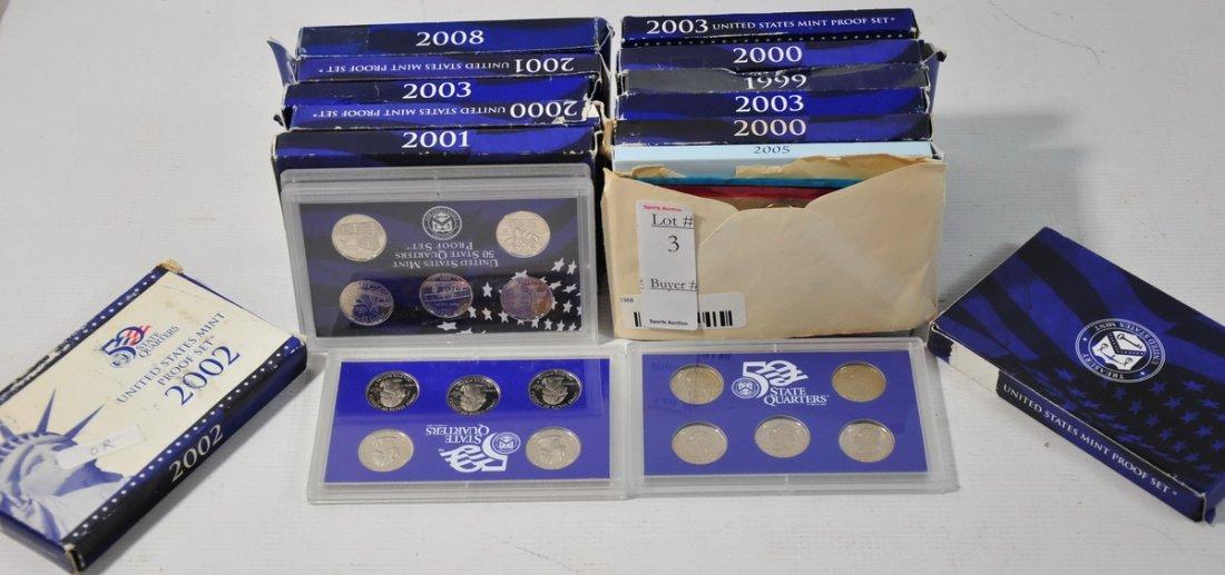 3: Lot of US State Quarter sets