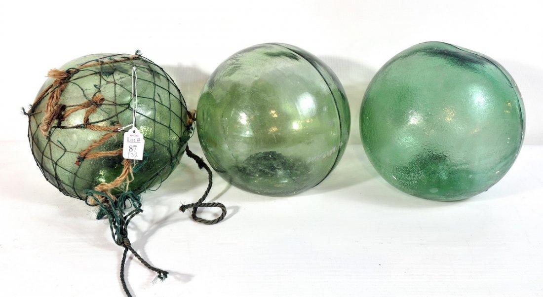 87: 3 Japanese Fishing Balls