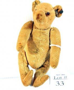 "5"" Steiff Teddy Bear Has Button In Ear...Missing Ri"