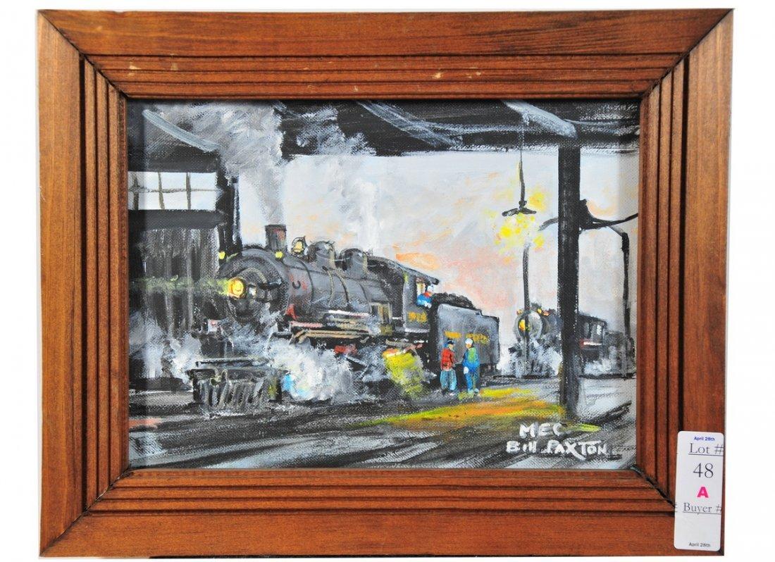 48A: Rigby Railroad Yard South Portland Maine scene 11