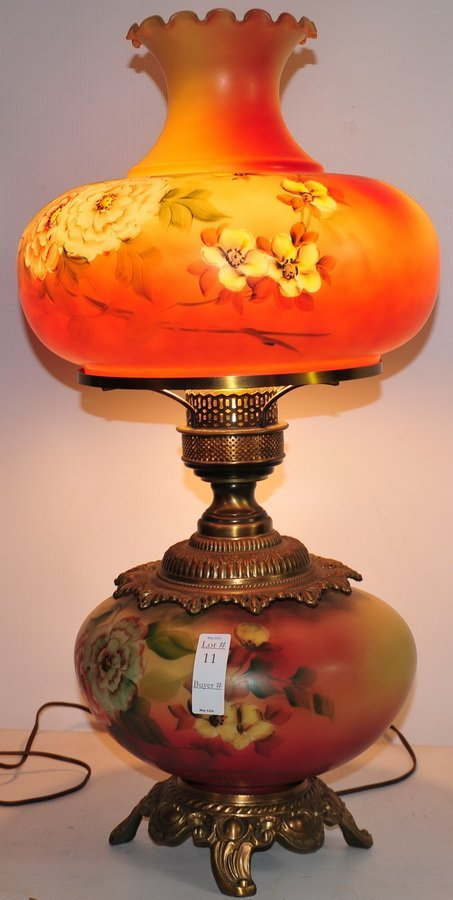 11: Gone with the wind lamp