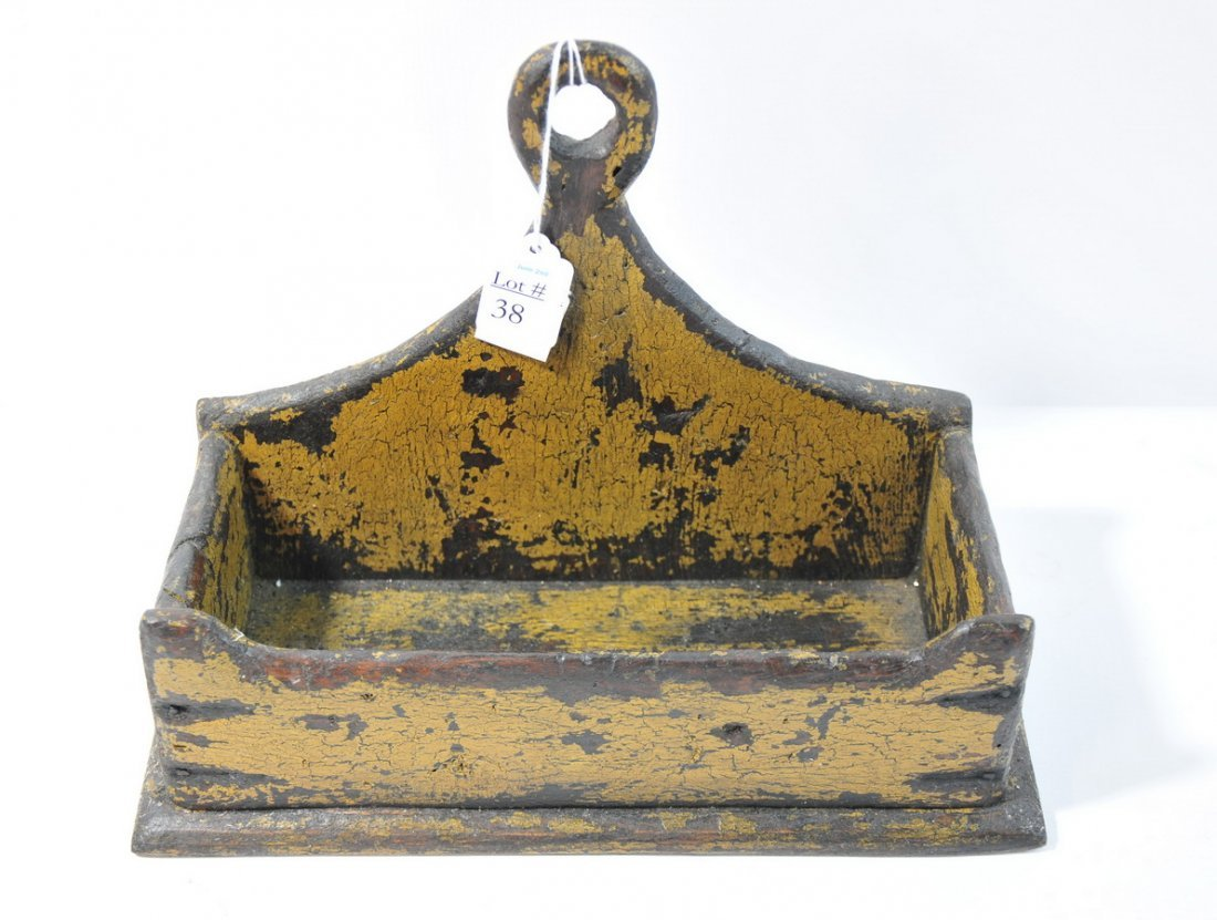 """38: Wall box in old distressed paint 12"""""""