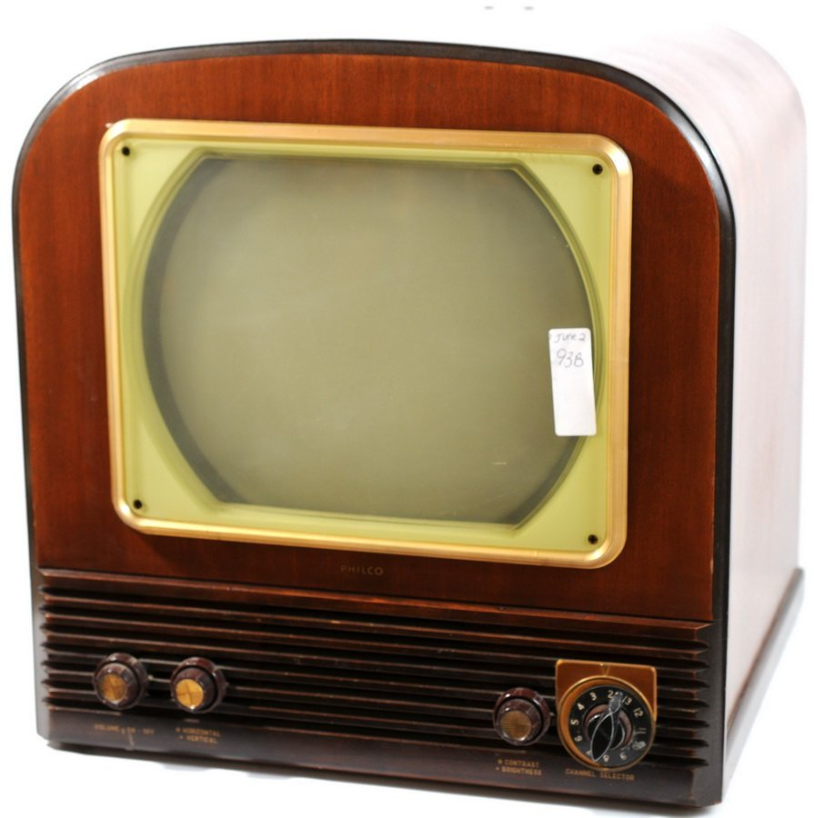 93B: Circa 1955 Philco TV
