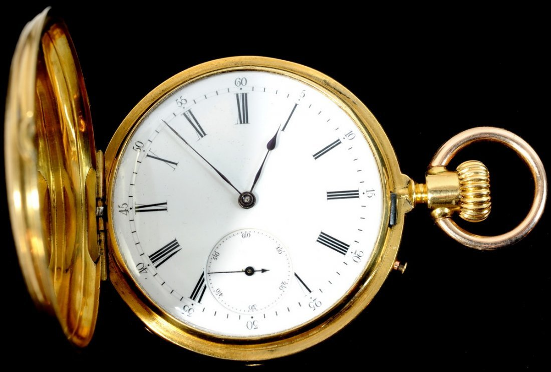 3A: Significant Swiss Crafted Fine Pocket Watch with 20
