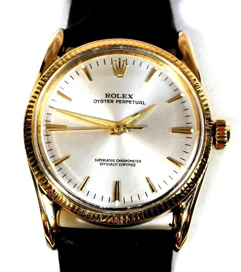 5A: Rolex Wrist Watch Oyster Perpetual Superlative Chro