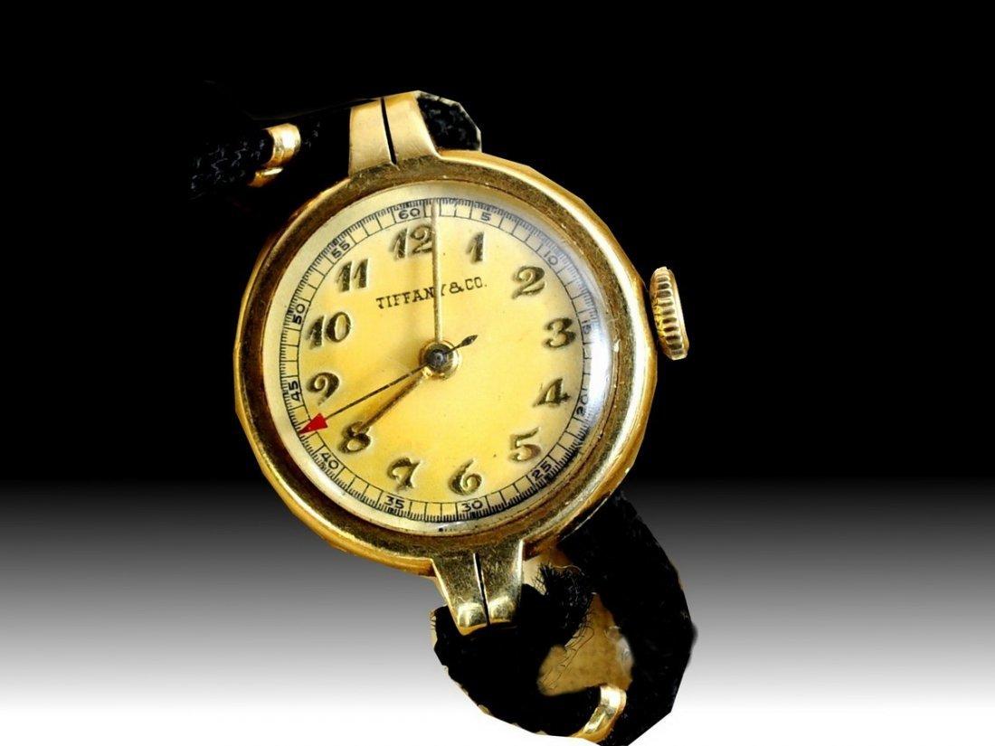 12: 14Kt. Tiffany and Company antique ladies 15 jewel w