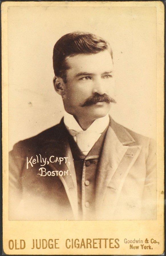 22: 1888-89 Old Judge Cigarette N-173 Cabinet card King