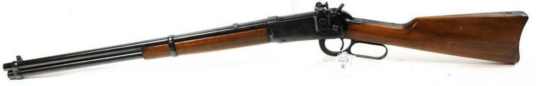 8: Winchester Model 94 Lever Action chambered in 30 WCF