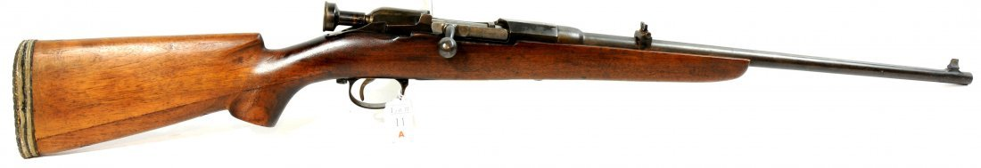 11A: Sporterized rifle chambered in 351 Winchester