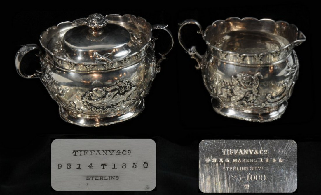12: Tiffany And Company Sterling silver covered sugar a