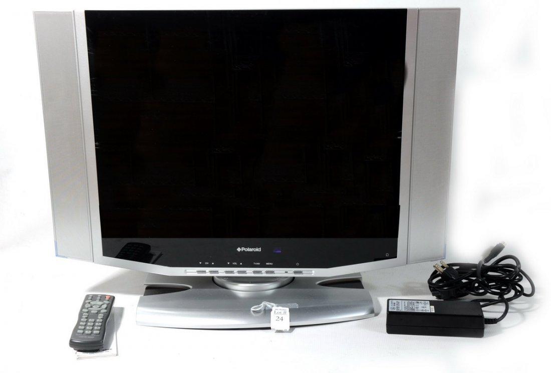 24: Polaroid Flat Screen Television