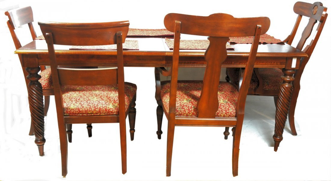 """150A: Ethan Allen """"British Classics Collection"""" Table a"""