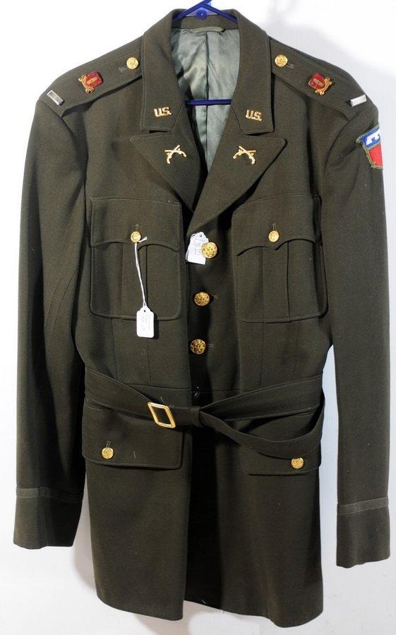 15: Korean War US Army Warrant Officer Uniform (coat, h