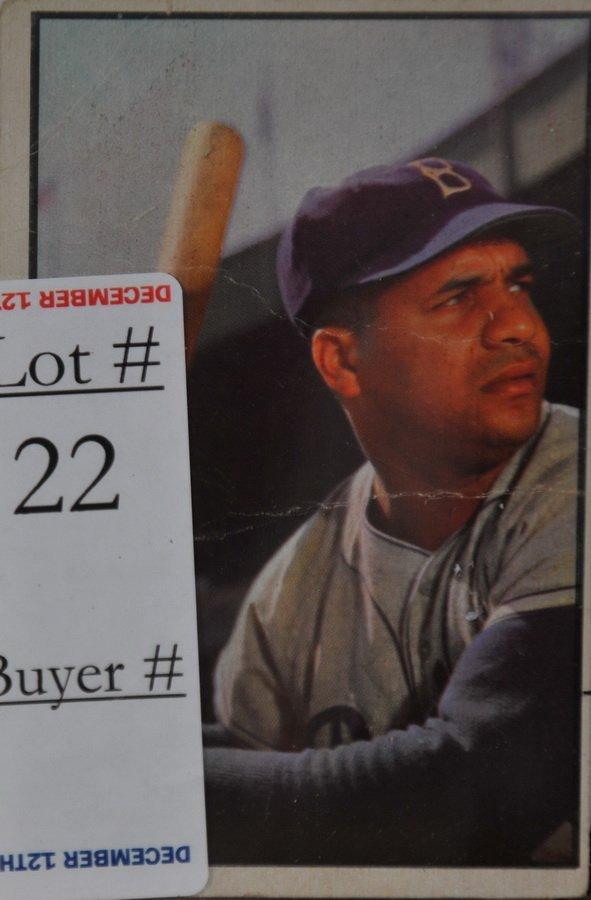 1953 Bowman Color Roy Campanella card #46