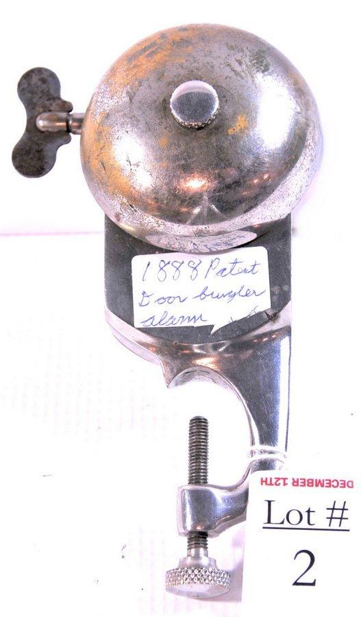 2: Antique Burglar Alarm