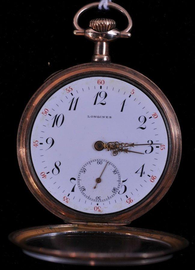 24: Longines Pocket Watch