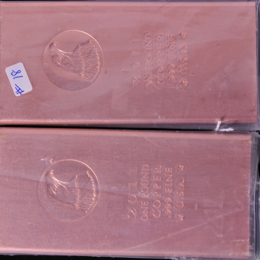 8A: Two Pounds of Copper Bars