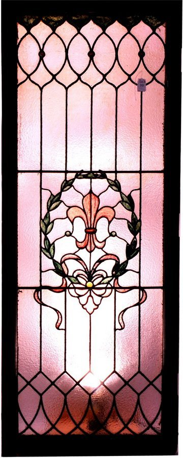 10: Fancy Stained glass window 60x23