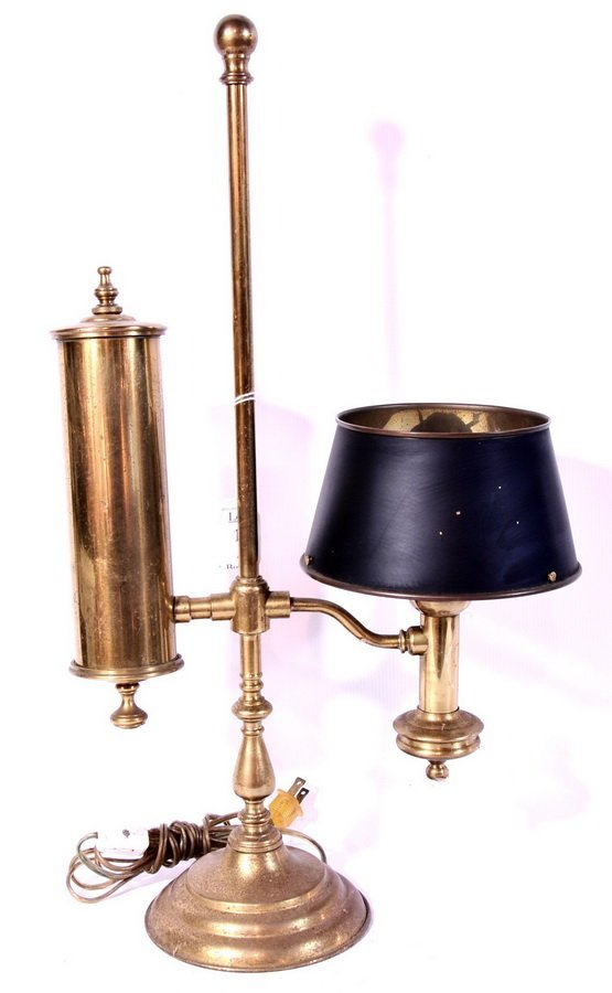 10A: Brass Student lamp